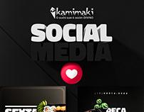 Social Media - Kamimaki Sushi
