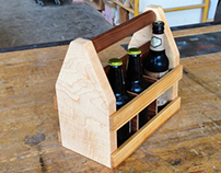 6-Pack Beer Case