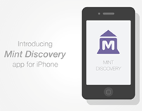 Mint Discovery App 2D Animation