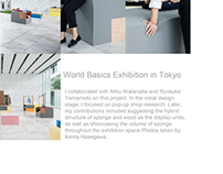 Exhibition Design for World Basic in Tokyo