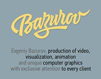 Evgen3d.com. Personal site development.