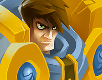 DIGITAL PAINTING - Garen League of Legends