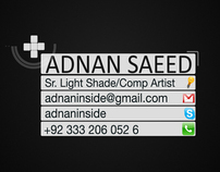 Showreel Adnan