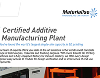 AMS Flyers for MATERIALISE -BELGIUM