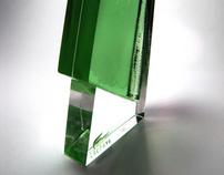 Lacoste Sharp Edge perfume concept