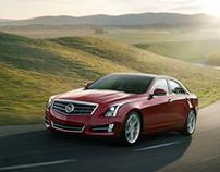 Cadillac ATS - Retouching