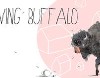 BLOWING BUFFALO