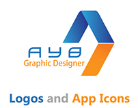 Collection of logos and App Icon.