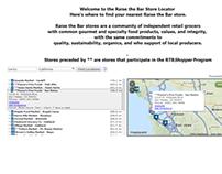 Store Locator - Web Design