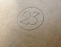 twentythree. personal brand identity.