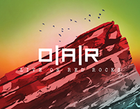 OAR Live on Red Rocks CD/DVD Design