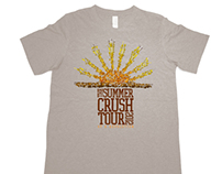 OAR 2012 Summer Tour Merchandise Design