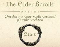 The Elder Scrolls Online Mini Site Ad (January 2014)