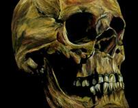 Colored Pencil Skull