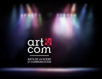 Département Art&Com Brand Identity