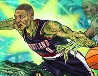 """【NBA】Damian """"Lizard"""""""