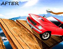 Game Designing:Impossible Sky bridge crossing
