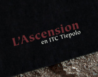 L'Ascension - Typographic booklet