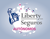 Liberty Seguros. Visual identity animation, icons &...