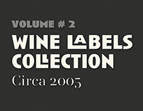 Wine Labels Collection #2