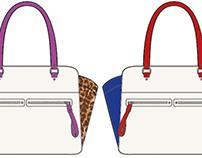 Handbag Design: Estell Satchel