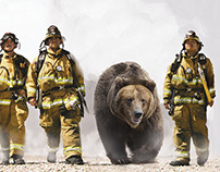 Smokey the Bear magazine ads