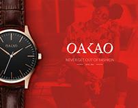 OAKAO Logo & Branding Case Study