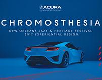 Acura Jazz Fest Experience Design