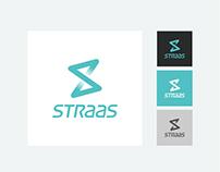 StraaS.io Logo & Landing Page