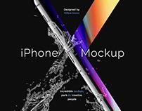 iPhone X Mockup by Anton Blinkov