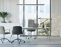 Office furniture, Tanzi | CGI