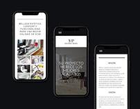 Website Materia Prima