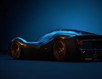 Ferrari 330P Studio Lighting CGI