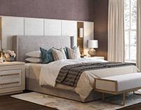 Townhouse, London bedroom design