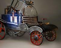 steampunk ferifighter