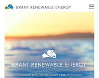 Brant Renewable Energy Responsive Webdesign