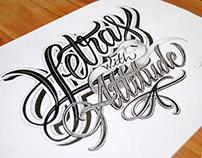 """Letras with attitude"""