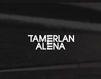 Tamerlan & Alena Logo and Identity