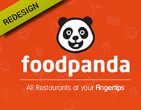 Food Panda App Redesign