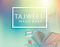 TAJWEED Made Easy Quraan Academy Advertising Poster