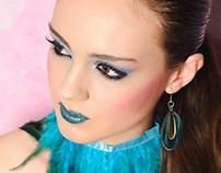 PEACOCK Model: Arantxa Dominguez Photo: Alfredo Aznarez