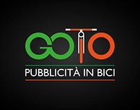 GOTO - Pubblicità in Bici