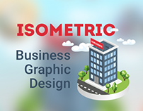 Isometric Business Graphic Design