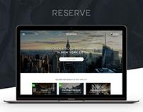 Restaurant Reservation Booking Platform | UX, UI