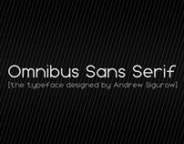 Omnibus Sans Serif Version 1.000