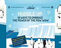 Huddle Up - Infographic
