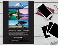 New Zealand Tourist Board Sunday Times Travel Magazine