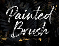 FREE Typeface: Painted Brush Fonts
