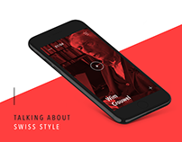Talking About Swiss Style App Concept