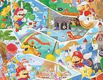 Mario 30 years fresco